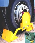 Wheel Clamp HGV LOKCHOK 'Clamp in the Cab'